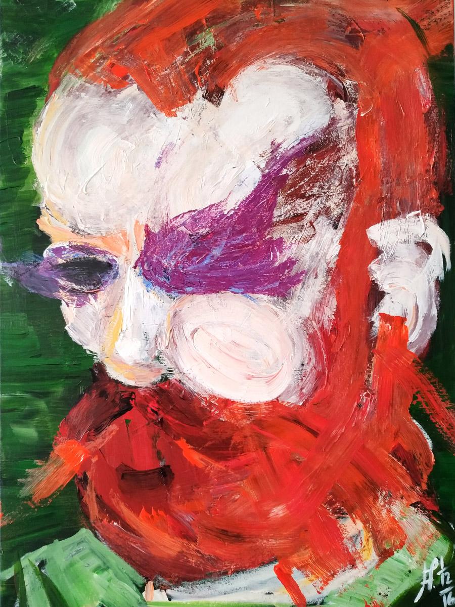V. V. El loco del pelo rojo.
